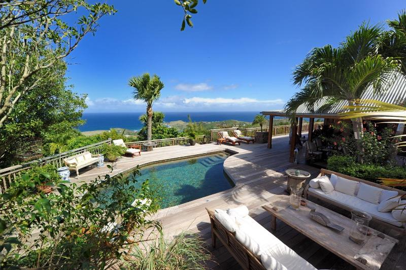 4 Bedroom Villa with View of the Caribbean Sea in Vitet - Image 1 - Vitet - rentals