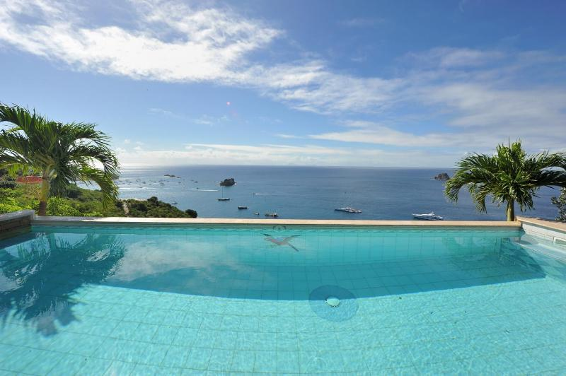 Lovely 3 Bedroom Villa with Ocean View in Colombier - Image 1 - Anse des Flamands - rentals