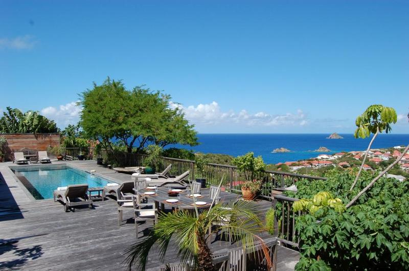 3 Bedroom Villa on the Hillside of Gustavia - Image 1 - Gustavia - rentals