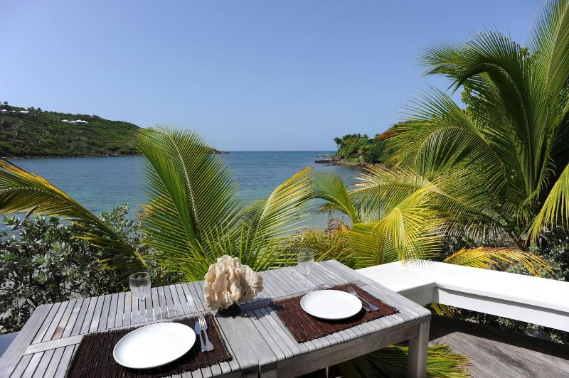 Cozy 1 Bedroom with Covered Terrace in Marigot - Image 1 - Marigot - rentals
