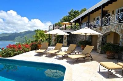 Spectacular 5 Bedroom House with Infinity Edge Pool on Tortola - Image 1 - West End - rentals