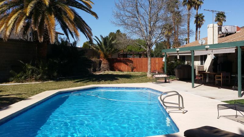 Large backyard with pool - Home Away From Home - Las Vegas - rentals