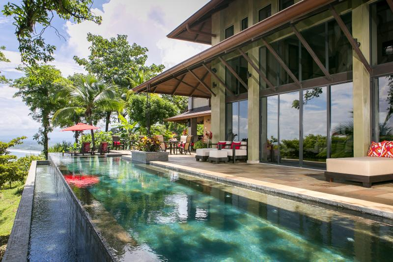 Villa Paraiso Ocean-View Infinity Edge 70-ft. Lap Pool and Wrap-Around Outdoor Terrace - Winter Specials!  The Ultimate Luxury Villa - Manuel Antonio National Park - rentals