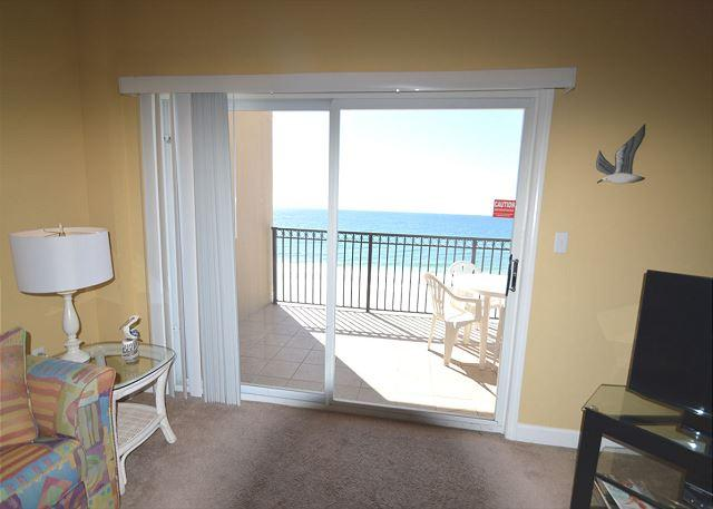Living Room View - Perfect Couple Condo Getaway ~ Bender Vacation Rentals - Gulf Shores - rentals