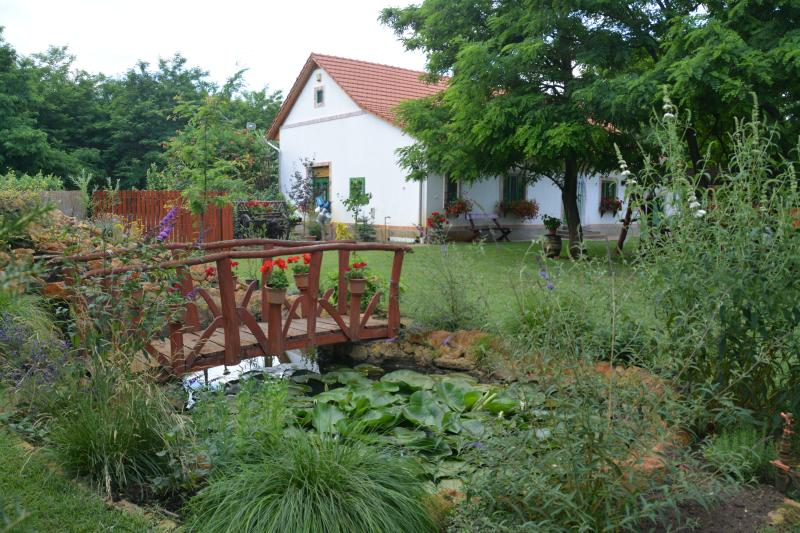 The main house with the little lake - Peaceful quiet Nemeth farm appartman - Szeged - rentals