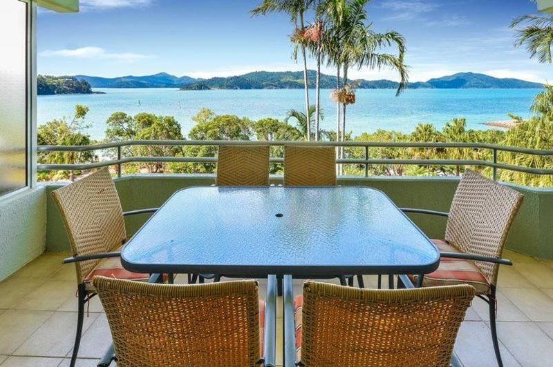 Balcony - Lagoon 204 - Hamilton Island - rentals