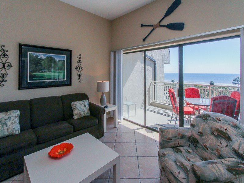 Living Room with Ocean View at 538 Shorewood - 538 Shorewood - Forest Beach - rentals