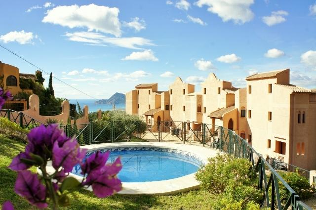The exclusive residence - Fabulous views from upscale hilltop condo - Altea la Vella - rentals