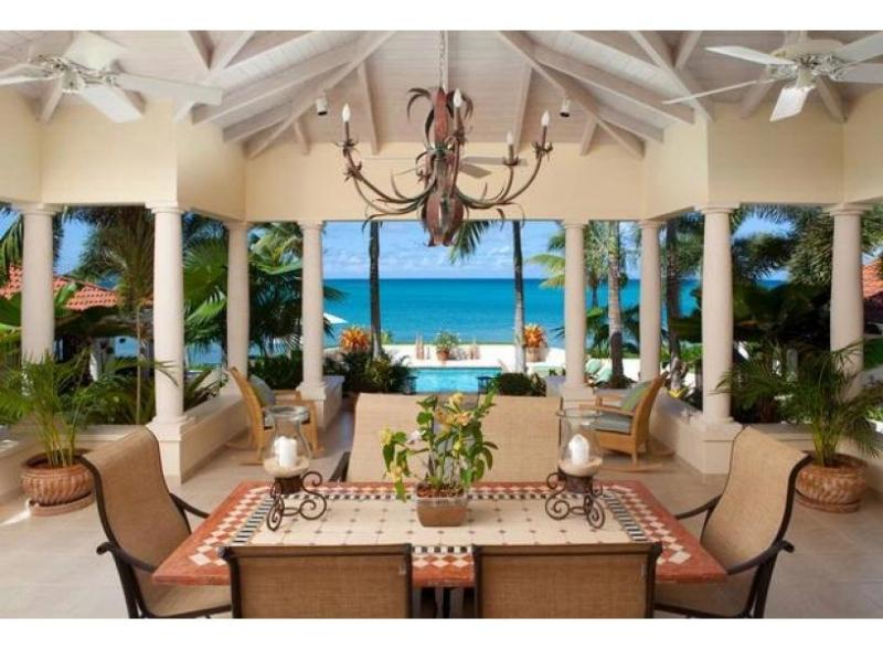 L'Acqua at Jumby Bay Beach, Antigua - Beachfront, Pool, Tropical Gardens - Image 1 - Saint George Parish - rentals