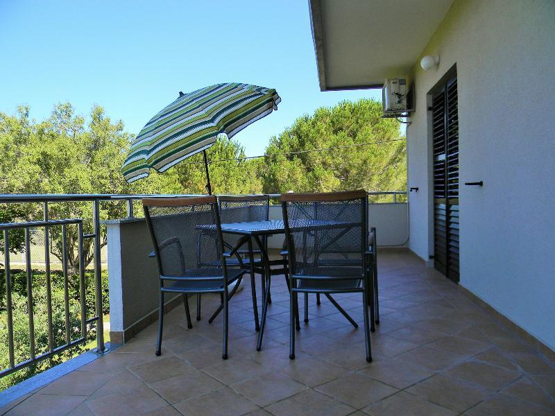 A2(2+2): terrace - 00418ZATZ A2(2+2) - Zaton (Zadar) - Zaton (Zadar) - rentals