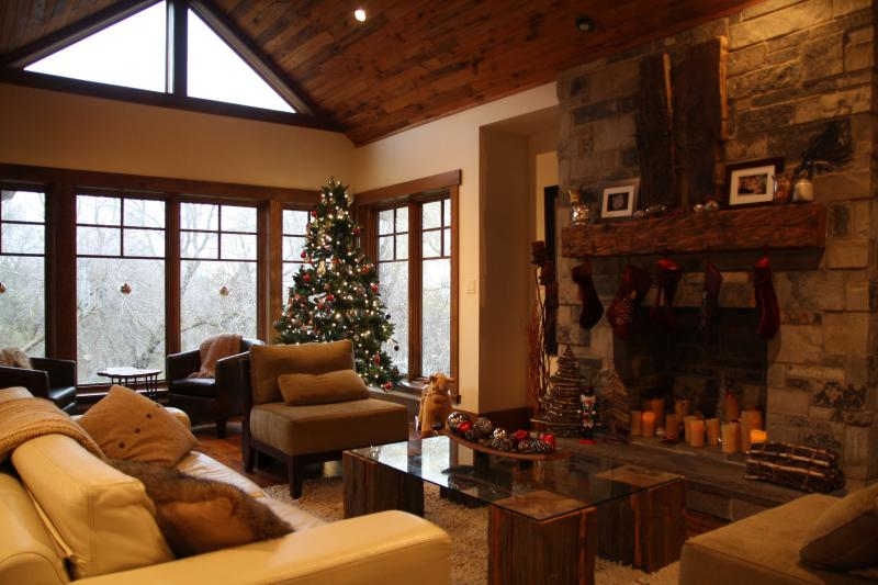 Great Room Overlooking Forest - Stunning Home Along Hiking Trail, Walk to Ski Hill - Kitchener - rentals