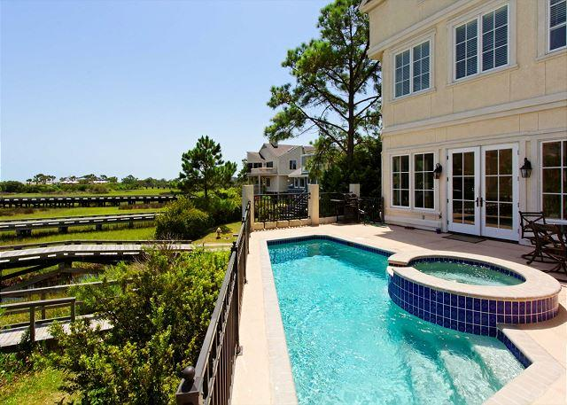 Pool and Summer Fun - Bradley Circle 30A, 5 Bedrooms, Ocean View, Private Pool Elevator, Sleeps 13 - Hilton Head - rentals