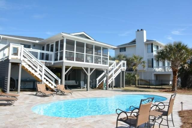 "3328 Palmetto Blvd - ""Carolina Sunset"" - Image 1 - Edisto Beach - rentals"