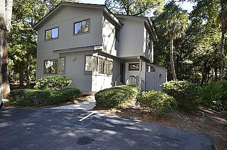 Exterior of the Home  - Short Walk to Beach, Onsite Tennis/Swimming - Hilton Head - rentals