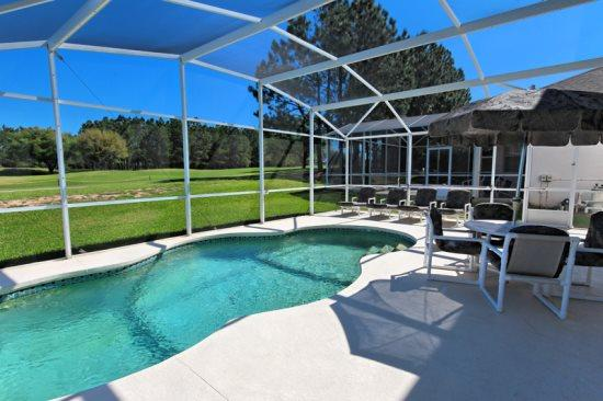 5 Bedroom Pool Home With Golf Course View. 147TC - Image 1 - Orlando - rentals