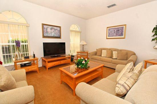 Large 6 Bed 4 Bath Golf Pool Home. 203BIRK. - Image 1 - Orlando - rentals