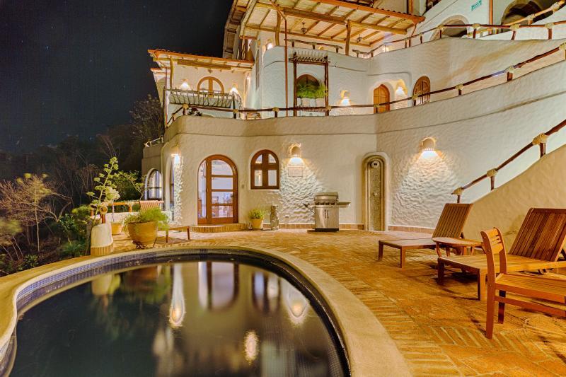 Entrance to Casita Romantica from Private Patio with Private Pool showing. - Casita Romantica - 1 Bedroom - San Juan del Sur - rentals