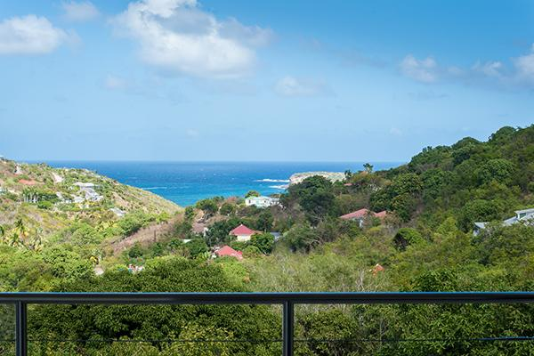 Private villa with ocean view in Marigot WV FCE - Image 1 - Marigot - rentals