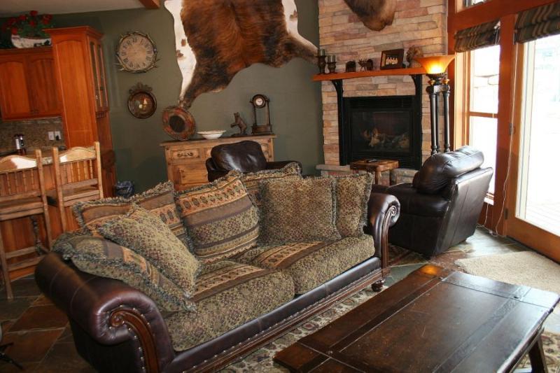 Living Room 2 - Elkpoint Ski in Ski out - Durango - rentals