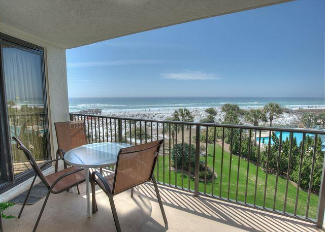 """Beach View from Patio - Have  """"A PLACE IN THE SUN""""  with a Shorter Stay through the Summer! - Sandestin - rentals"""