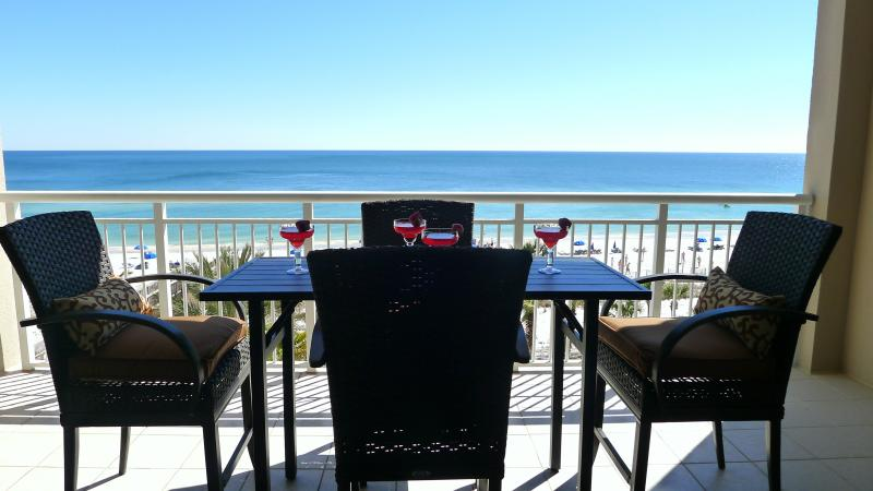 Amazing Views-Gulf Front Balcony!NEW Furniture plus 2 Deep Seated Chairs (not pictured) - Super SPECIAL April 21or 22 Wk 10th Flr $275 Off!2BR Gulf Front Luxury!HUGE pool - Perdido Key - rentals