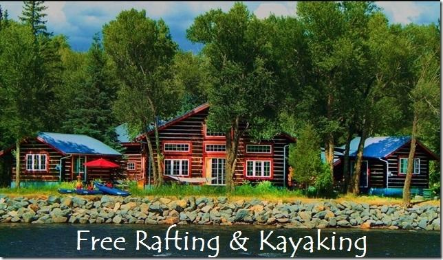 Free Rafting at Riverside Meadows Cabins on th - Image 1 - South Fork - rentals