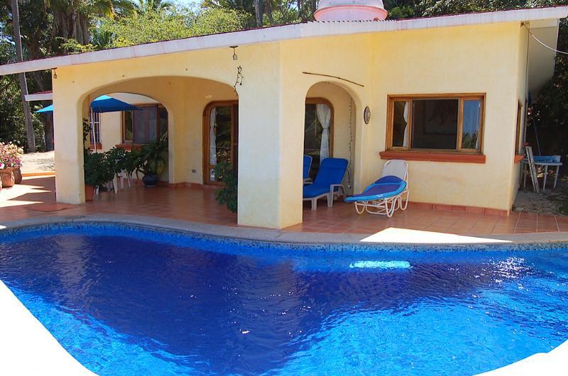 Pool Terrace - Casa de Suenos - Ocean View! - San Pancho - San Pancho - rentals
