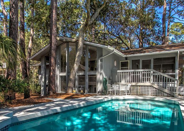 Exterior - 11 Marsh Wren-2nd Row Ocean beach home - Coastal Fun - - Hilton Head - rentals