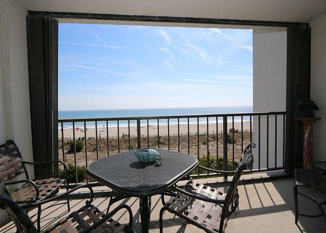 Station One-3B The Haven-Oceanfront condo with community pool, tennis, beach - Image 1 - Wrightsville Beach - rentals