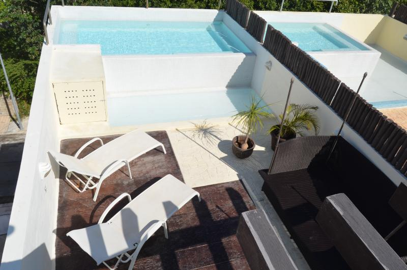 Penthouse 3 bedrooms, 3 bathrooms private pool  at - Image 1 - Playa del Carmen - rentals