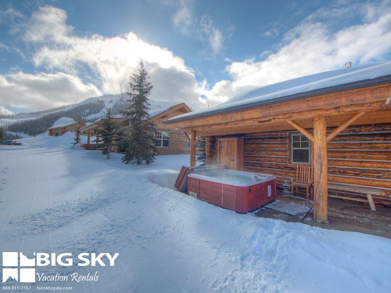 Big Sky Moonlight Basin   Cowboy Heaven Cabin 7 Rustic Ridge - Image 1 - Big Sky - rentals
