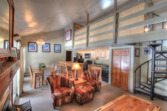 Keystone Colorado vacation rentals and lodging at discount prices - Keystone 1026 Wild Irishman 5 minute shuttle to slopes 2 bd/2 bth TownHome on the Snake River; Lakeside Village - Keystone - rentals