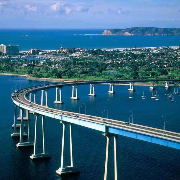 Almost there!! Coronado bridge... - Better Homes Coronado Beach Home - Coronado - rentals