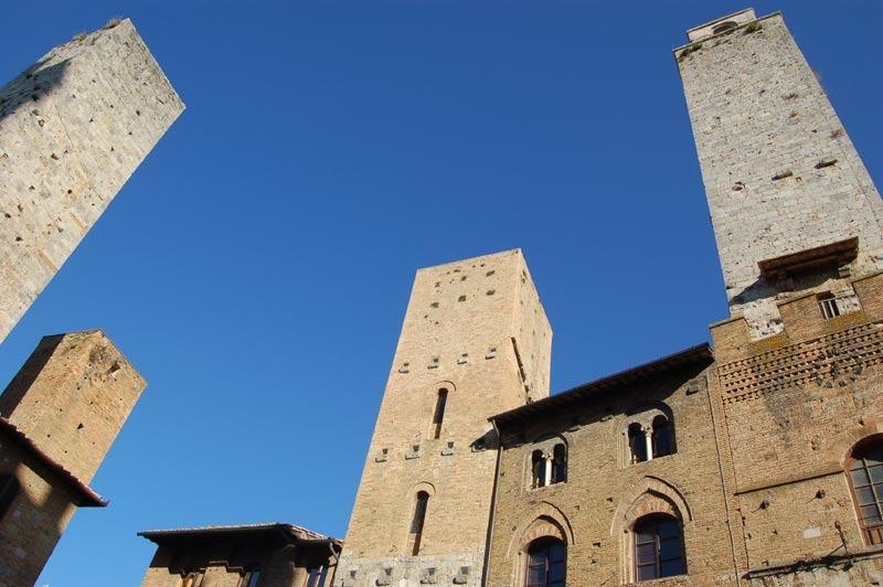 The view on the Piazza del Duomo. - il Borgo Antico Apartment - San Gimignano - rentals