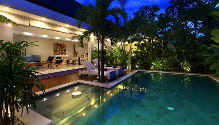 Modern Tropical Villa 500 m Seminyak Beach - Image 1 - Seminyak - rentals