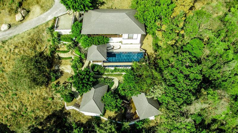 Sunset Heights is a multi layered villa offering detatched villa bedrooms - Sunset Heights Villa Koh Samui - Koh Samui - rentals