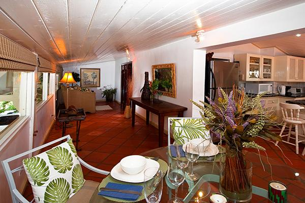 Romantic hideaway with private path to beach. BS LIT - Image 1 - Barbados - rentals