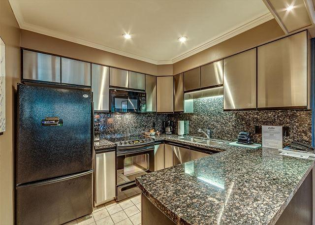 Full Kitchen - Family Oriented Two Bedroom Ski-in Ski-out Whistler Accommodations - Whistler - rentals