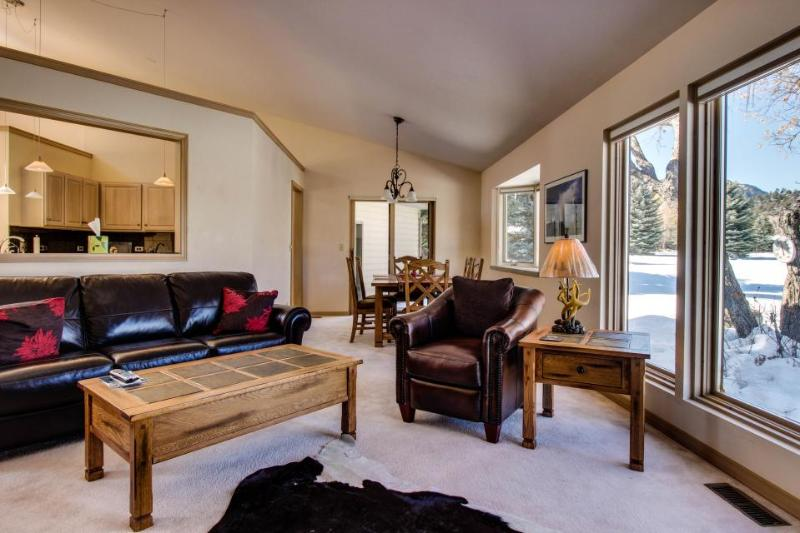 Tasteful, single-level home with views of hills & pond! - Image 1 - Durango - rentals