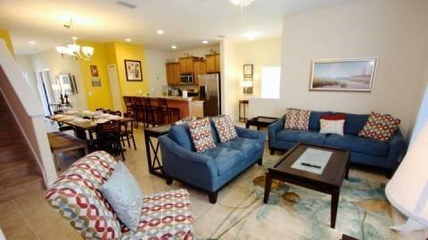 5 Bed 4 Bath Town Home In Disney Resort. 8918MPR - Image 1 - Orlando - rentals