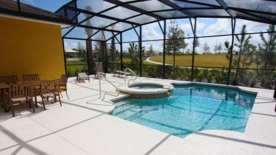5 Bed 5 Bath Stunning Single Story Pool Home in Solterra. 5145OA - Image 1 - Orlando - rentals