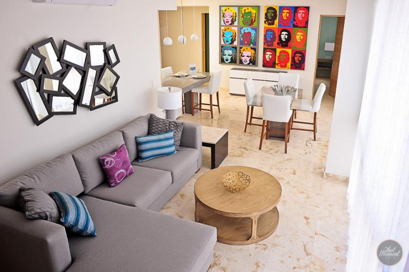 Amazing decoration and layout of the apartment - Tropical Escape, Great Amenities For 10 Friends - Playa del Carmen - rentals