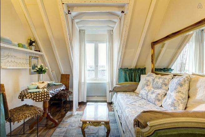 With AC, Darling 1 Bedroom in Marais - Image 1 - Paris - rentals
