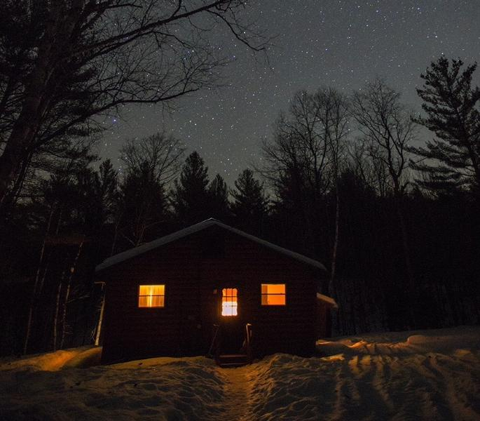 Starry Winter's Night - Babbling Brook Cabin - 1 Mile to Gore Mountain - North Creek - rentals