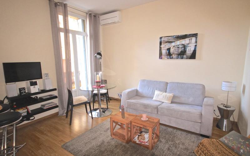 Central Cannes - 1 BR apartment ideal for vacation - Image 1 - Cannes - rentals