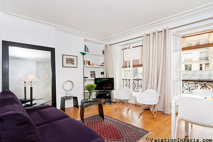 Pompidou-Marais One Bedroom - Image 1 - Paris - rentals