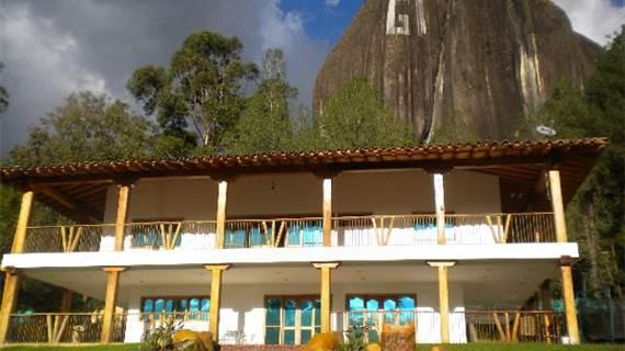Lake Front with Peñol Views  0035 - Image 1 - Guatape - rentals