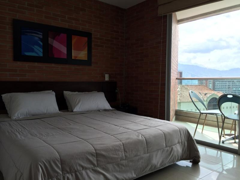 Economical Poblado Studio w/ Pool 0069 - Image 1 - Medellin - rentals