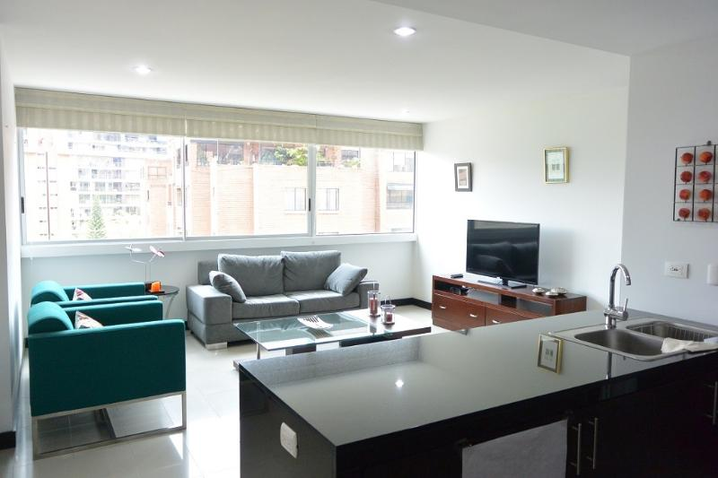 Two Bedroom Poblado Apartment in a High Rise 0111 - Image 1 - Medellin - rentals