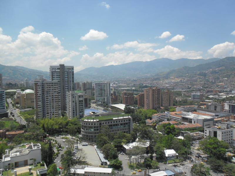 Gorgeous Poblado Rental 20th Floor w/ Pool 0120 - Image 1 - Medellin - rentals
